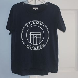 Madewell Champs Elysees Navy Blue T-Shirt